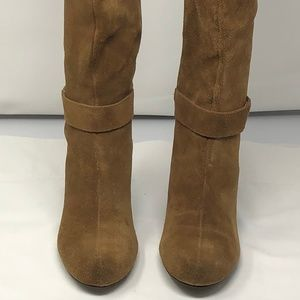 BCBGeneration Shoes - BCBGeneration, Mercy Wedge Suede Boots, Size 8 38